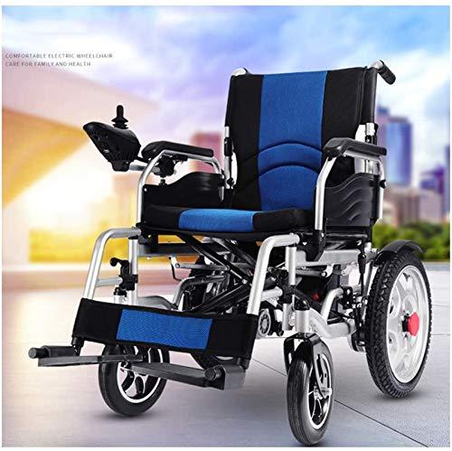 Silla de Ruedas eléctrica, Silla de ruedas eléctrica Ligera silla de ruedas, función dual plegable silla de ruedas eléctrica, aeroespacial de aluminio hecha a mano, Li-Ion ,4 Ruedas Andador Para Ancia