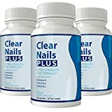 Clear Nails Plus - Antifungal Probiotic Pills - 60 Capsules - Supplement (3 Month Supply)