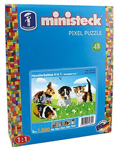 Ministeck 31330 - Haustierbabies 4in1, ca. 1.800 Teile