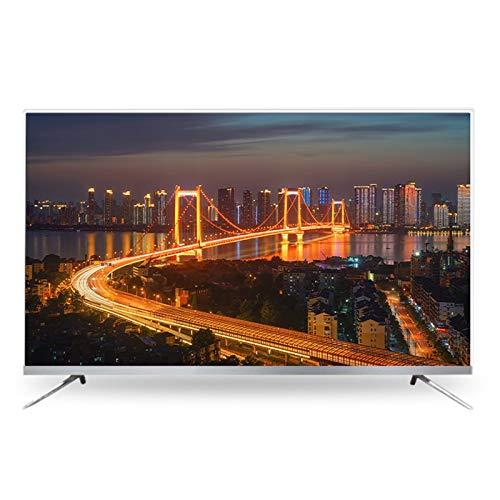 LYYAN Smart TV, 50/55/60 Pulgadas HD 1080p Reproducción TV de Pantalla Plana HDMI VGA Integrado Puerto óptico Frecuencia de actualización TV HD de 60 Hz