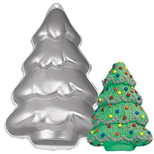 Wilton Cake Pan: Step-By-Step Holiday Tree/Christmas Tree (2105-9410, 1986)