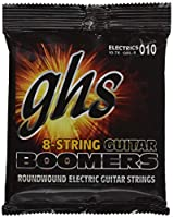 ghs エレキギター弦 Guitar BOOMERS/ギター・ブーマーズ 8弦ギター用 ライト 10-76 GBL-8