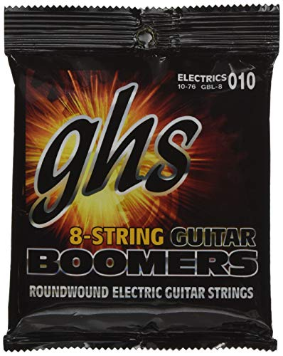 GHS Strings Electric Guitar Strings (GBL-8)