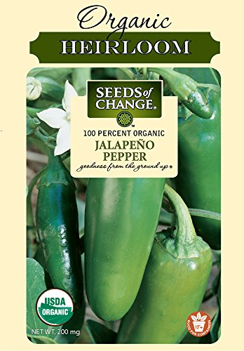 Seeds of Change 01058 Organic Jalapeno Pepper Seeds
