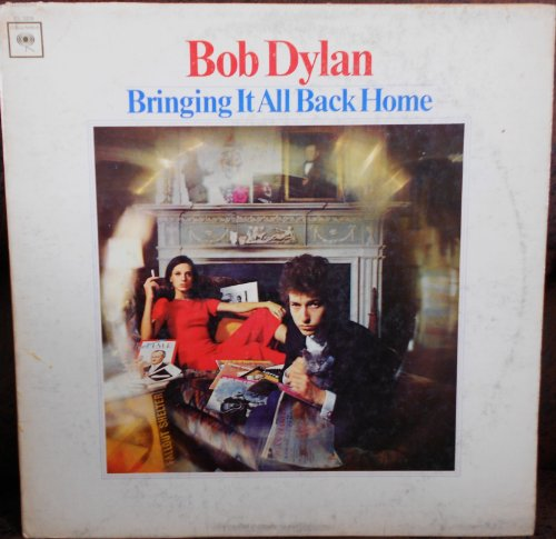 """Bringing It All Back Home Bob Dylan Columbia """"Two Eye"""" CL 2328 1st Pressing (Stampers 1A/1A) Folk Vinyl (1965)"""