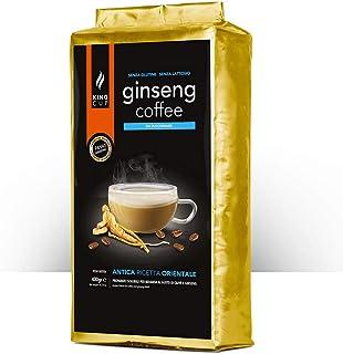 King Cup - 1 Sachet de 400 Gr de Melange en Poudre de Café Soluble au Ginseng Sans Sucre, Idéal pour Ajouter à l'Eau Chaud...