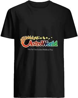 Astroworld logo Travis Scott Merch 46 T shirt Hoodie for Men Women Unisex