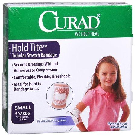 Curad Hold Tite Tubular Stretch Bandage, Small 5 yd