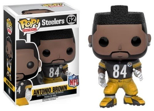 Funko 10216 No Actionfigur NFL 3: Antonio Brown (Steelers), Einheitsgröße