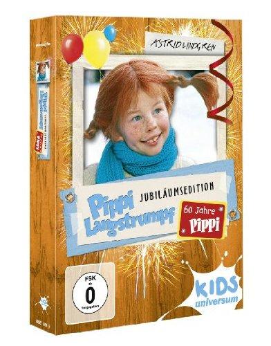 Pippi Langstrumpf Jubiläumsedition - 60 Jahre Pippi [2 DVDs]