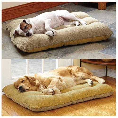 Extra Large Medium Small Dogs Haustierbett Sofa Warm Plüsch Kissen Maschinenwaschbar (Size : 70 * 50cm)