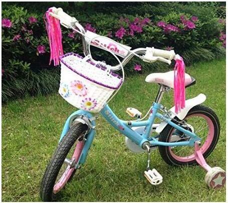 Erioctry - Manillar de bicicleta para niños, varios colores, pomo ...