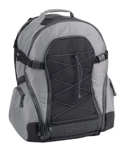 Tenba Shootout Backpack Large Black/Black argento/nero