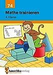 Mathe trainieren 4. Klasse, A5- Heft
