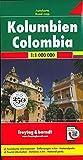 Colombia 1:1.000.000: Wegenkaart 1:1 000 000: AK 189