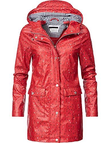 Peak Time Damen Allwetter Jacke Regenmantel L60017 Red019 Gr. XL