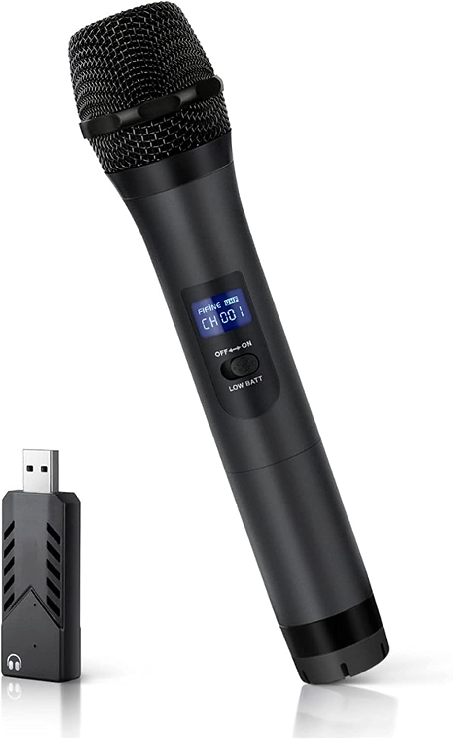 zlw-shop Professional UHF Handheld Dynamic Receiver with Mic ! Super beauty product restock quality top! Max 68% OFF USB