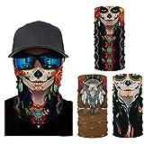 Neck Gaiter Face Mask ,Face Scarf Cover Mask Reusable,Balaclava face mask for Men & Women