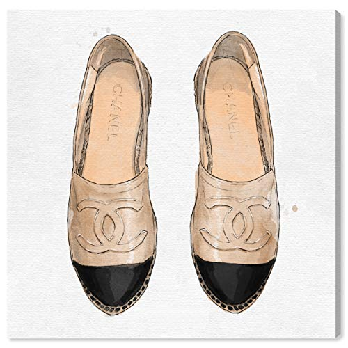 Top 10 best selling list for chanel canvas espadrille flat shoes sneakers