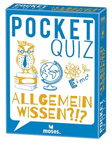 Pocket Quiz Allgemeinwissen | 150 Fragen und Antworten für Besserwisser (Pocket Quiz / Ab 12 Jahre /Erwachsene)
