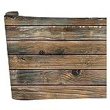 Vosarea - Papel pintado de madera rústico, papel pintado en lámina de madera, autoadhesivo, papel pintado extraíble, palo y pelar, vinilo falso papel pintado de madera