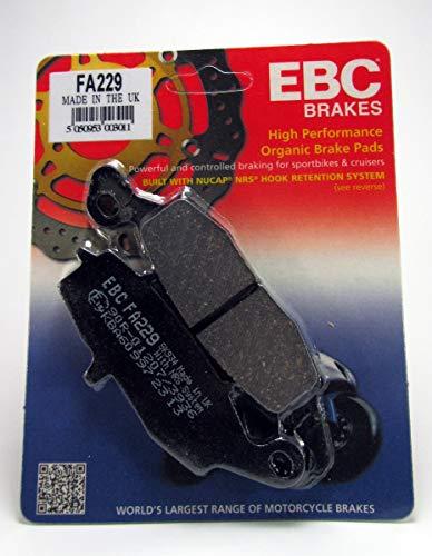 EBC FA229 - Pastillas de Freno compatibles con Kawasaki KLE 650 Versys KLR 650 KLV 1000