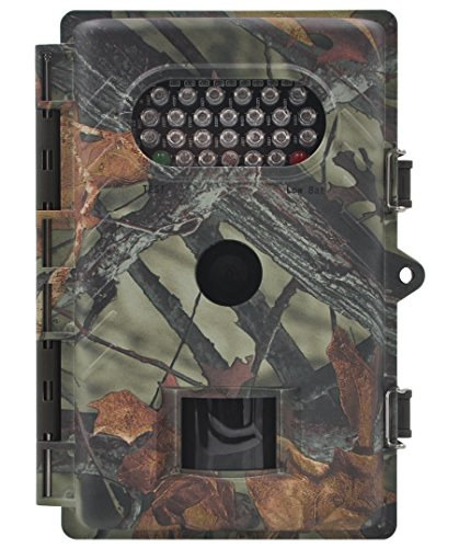 FULLLIGHT TECH 720P 8.0MP Game & Trail Hunting Camera Low Glow Outdoor Motion Activated wildlife Camera with Infrared Night Vision 1 Year Manufacturer Warranty