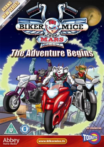 Biker Mice From Mars - The Adventure Begins [DVD] [Reino Unido]
