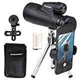 Celestron 20x50mm Outland X Monocular with Tripod, Smartphone Adapter