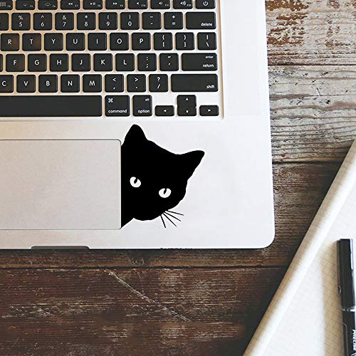 Cute Cat laptop sticker For Laptop 11 13 15 Laptop Vinyl Sticker Skin decoration