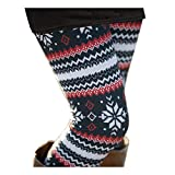 Sipaya Womens Casual Fall Xmas Party Leggings Tights Ankle Length Elastic Waist Pants S