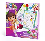 Nickelodeon - Dora La Exploradora, colorea por números (Dinova D0561001)
