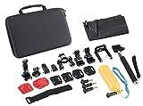 Somikon 20in1-Zubehör-Set für Action-Cam DV-4017.WiFi, DV-850.WiFi und GoPro®