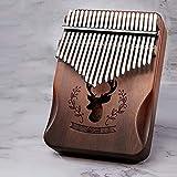 Sunbaby 17-Tone Piano de pulgar portátil de madera dedo Piano...
