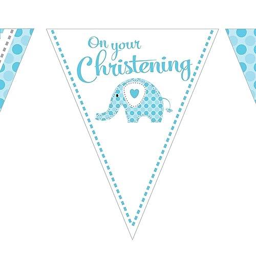 39afadf3ebca Christening Decorations for Boy  Amazon.co.uk