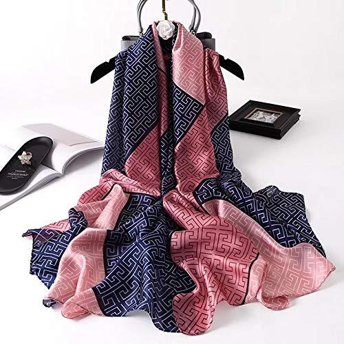 Bufanda Chal Luxury Brand Women Scarf Summer Silk Scarves Shawls Lady Wraps Soft Pashimina Female...