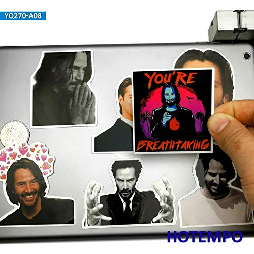 Mode Artiest Stickers Voor Mobiele Telefoon Laptop Koffer Skateboard Stickers 8 stks