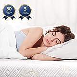 Newentor® 7cm Gelschaum Topper 160 x 200 cm Matratzentopper 2-in-1 Viskotopper, Gel Memory Topper für Bett Boxspringbett Schlafsofa, Bezug waschbar - 7