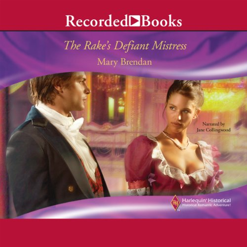 The Rake's Defiant Mistress audiobook cover art