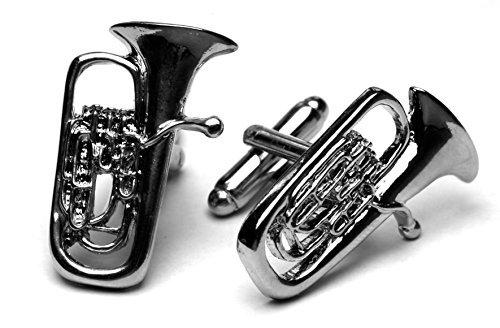 Libero Designs Boutons de Manchette Euphonium – conçu par Les Musiciens pour Les Musiciens