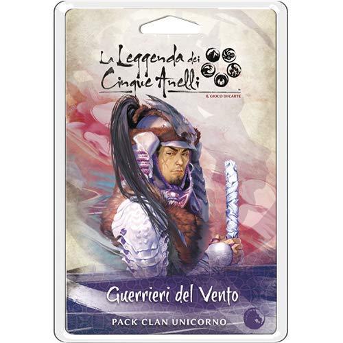 Asmodee Italia - La leyenda de los cinco anillos LCG expansión Guerrieri del Vento Living Card Game, color, 9121 , color/modelo surtido