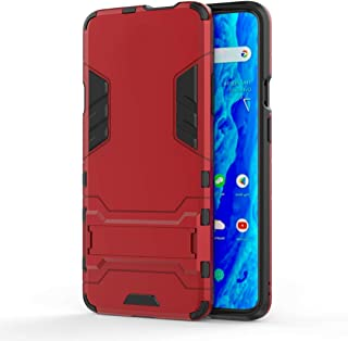 Minwu Case for Realme C11, with Ring Holder Kickstand, Full Body Protective Silicone TPU Gel Personalised Shockproof Tough...