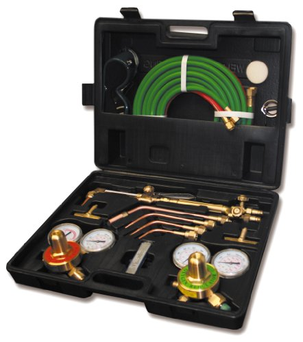 Product Image of the US Forge Welding and Cutting Oxygen Acetylene Pro Flame Pak Kit #00820