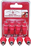 Harris Farms 1261 Poultry Water Nipple, 4-Pack