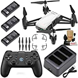 Tello Drone Quadcopter Boost Combo Plus with 3 Batteries, Ch...