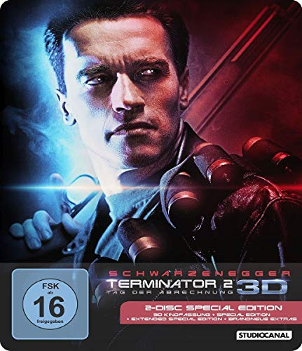 Terminator 2 - Steelbook  (+ Blu-ray 2D) (SE) Blu-ray