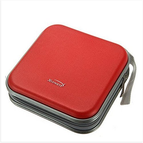 unicoco CD bolsa de almacenamiento funda de transporte portátil coche oficina de...