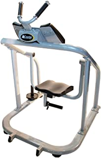 The Abs Company Ab Coaster CTL - Ultimate Ab Workout, Exercise Machine for Professional Facilities, Trackless Design, Plate Loading Resistance