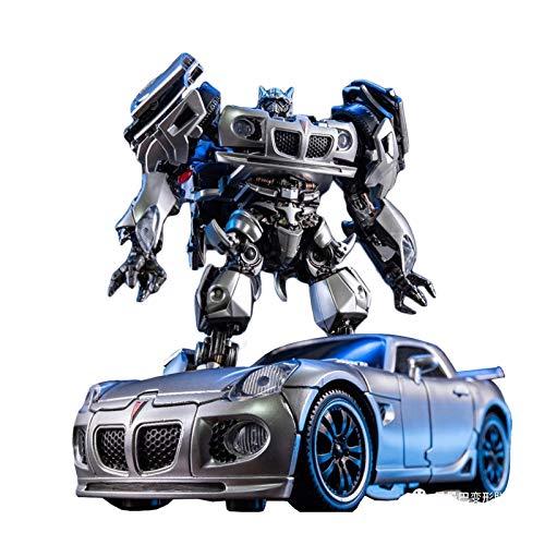 ZQWZ Trànsfōrmêrs tōys, Transformation LS-18 Jazz MPM09 MPM-09 Racing Car Robot Action Figure Robot Children Best Gift