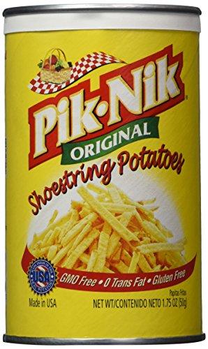 Pik-nik Original Shoestring Potatoes, 1.75 oz (Pack of 4)